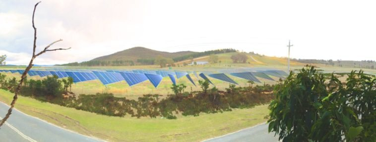 community owned solar farm