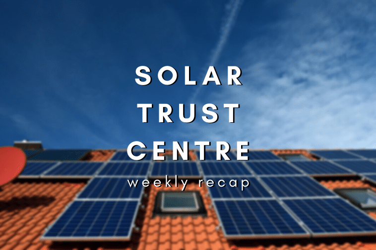 This Week in Solar: Australia's first states to run on 100% solar!